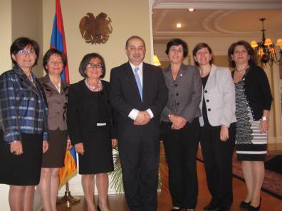 View The Visit Embassy of Armenia in Ottawa 2011 (October 30) Album