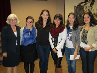View The ARS Canada Scholarship Recipients (2014-2015) Album