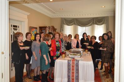 View The Mrs. Yeganian hosting ARS Canada at the Armenian Embassy (December 10th, 2016) Album