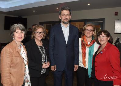 View The ARS Canada Executive members meet with Garo Paylan in Montreal, May 1st, 2017 Album